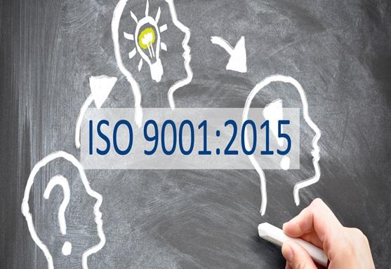 September 23, 2015 Standard ISO 9001:2015